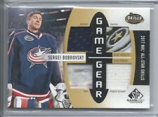2017-18 SP GAME USED GAME GEAR TAG PATCH JERSEY SERGEI BOBROVSKY 3/6 JACKETS