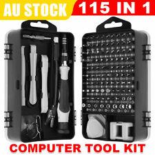 115 IN 1 Precision Screwdriver Set Phone PC Laptop Repair Tool Kit Screw Driver
