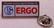 Pin / Anstecker + FC Schalke 04 + Offizieller Sponsor ERGO + Lizenz 2013 (62)