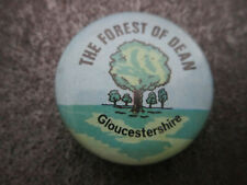 The Forest Of Dean Pin Badge Button (L7B)