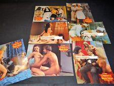 GEFÄHRLICHER SEX FRÜHREIFER MÄDCHEN rare jeu prestige erotique photos 1972