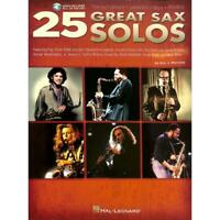 25 Great Sax Solos. Für Saxophon, Alt-, Tenor-, Sopransaxophon Musiknoten