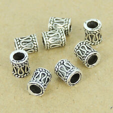 8 Pcs Sterling Silver Bead Vintage Celtic 925 Stamp DIY Jewelry Making WSP350X8