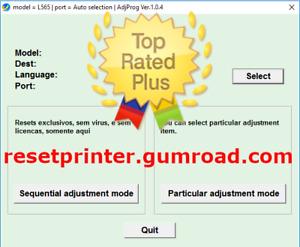RESETTER L210 L220 L1300 L1800 L375 L475 PM235 L800 L805 XP Unlimited🔥⭐⭐⭐⭐⭐