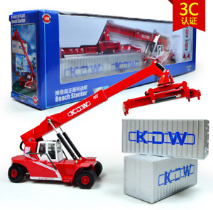 KDW 1:50 Alloy Reach Stacker Handling Container Diecast Model Truck 24*6.5*7CM