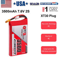 3500mAh 7.6V 2S LiPo LiHv Battery for Frsky ACCST Taranis Q X7 Transmitter RC