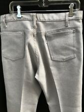 Vtg 70's Levis Polyester Light Taupe Pants~35X32~ Absolute Mint Condition!~Usa