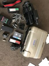 Sony Ccd-v30e Video Camera With Battery, Carry Case, Cables, As Shown In Photos