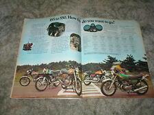 1974 SUZUKI ROAD MACHINE Street Bike CYCLE AD GT-750 GT-550 T-500 GT-380 250 185
