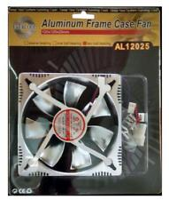 Aluminum Frame Case Fan AL12025 120x120x25mm Two Ball Bearing