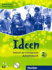 Hueber IDEEN Deutsch als Fremdsprache ARBEITSBUCH 2 / A2 @BRAND NEW@ German