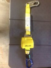Jelco 7' Retractable Lanyard on swivel plate with Shock Absorber
