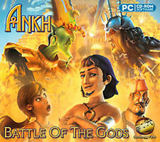ANKH BATTLE OF THE GODS  Ankh humor & bizarre characters  PC XP Vista 7 8  NEW