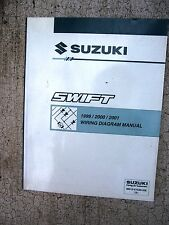 1999 2000 2001 Suzuki Swift Auto Wiring Diagram Manual Connectors Power Supply R
