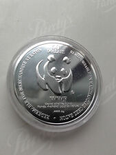 1995 Proof Silver WWF $50 Face Value Timonth Eaton  Panda Coin 999 Canada Oz #2