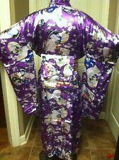japanese yukata kimono obi cosplay robe geisha dress