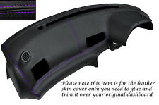 PURPLE STITCH DASH DASHBOARD LEATHER COVER FITS NISSAN SKYLINE GTS GTR R32 89-94