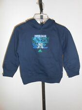 NEW-MINOR-FLAW Notre Dame FIGHTING IRISH KIDS Large L 7 Navy Blue Hoodie 45LU