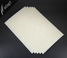 "Nomex 410 Insulation Paper 20 mil 0.020"", 5 each 8""x12"" Sheets Aramid Electrical"