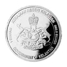 Kelantan Malaysia 1 Dirham Silver Coin Emirates DMCC Dubai World Islamic Mint
