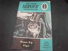 1959 Ford Mechanic Tune Up Tips Handbook Forum Manual