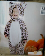 Carter's SNUGGLY SNOW LEOPARD Costume 6-12 months NWT Plush Halloween