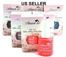 """PICK ANY 2 COLORS""Gel Nail Polish Color UV LED Soak off manicure .5 oz US sell"