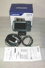 Lowrance Hook2-5x Fishfinder with Splitshot Transducer, Power Cable and Mount