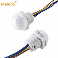 Mini Closet PIR Sensor Detector Switch 110V 220V LED PIR Infrared Motion Sensors