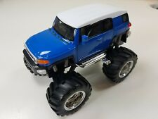 "Welly 4.75"" Monster Truck Big Foot Toyota FJ Cruiser Diecast Car 47003-8D Blue"