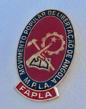 Pin Angola Movimento Libertacão FAPLA M.P.L.A. selten Abzeichen Very Rare