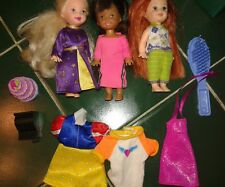 Barbie Little Sister Kelly Chelsea & Friends Doll Lot Redhead Freckles! Clothes