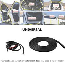 Waterproof Car Seal Noise Insulation Door Seal Strip D Type Decoration 4 Meter
