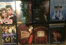 7 DVD Musicals: Grease/Rent/Moulin Rouge/Dreamgirls/ Phantom/Across The Universe