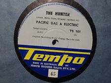 """Pacific Gas & Electric """"The Hunter"""" 1969 TEMPO Oz 7"""" 45rpm"""