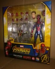 Medicom Mafex 081 Avengers Infinity War Iron Spider Spiderman In Stock Dispo