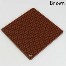 Silicone Drying Mat Cup Bowl Dish Heat Resistant Mat Home Kitchen Supplies