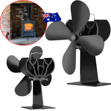 Wood Heater Eco Fan Stove Fireplace Fire Heat Powered Thermoelectric Ecofan AU