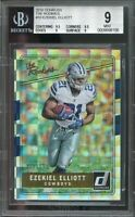 2016 donruss the rookies #10 EZEKIEL ELLIOTT cowboys rookie BGS 9 (9.5 9.5 9 9)