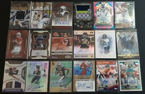 HUGE ROOKIE AUTO RELIC LOT (66)  #d WILLIAMS + BROWN + SINGLETARY + AUTOGRAPH