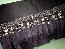 NEW Croscill Chambord Purple Amethyst Boudior Pillow Custom Made