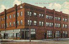c1907 Printed Postcard; Hotel Villa, Pasco WA Benton County Unposted