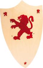 Bouclier en bois Léopold