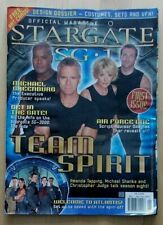 Stargate SG-1 Official Magazine Issue #1 Nov/Dec 2004 Amanda Tapping Shanks