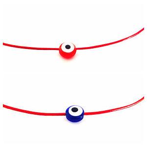 Kabbalah Red String Evil Eye Nazar Lucky Bracelet *Success Against Evil Eye*