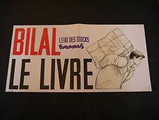 BILAL AFFICHE FUTUROPOLIS L'ETAT DES STOCKS