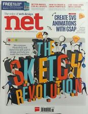 Net UK Nov 2015 The Sketch Revolution The Voice of Web Design FREE SHIPPING sb