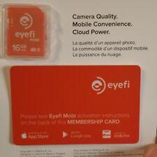 Eye-Fi Eyefi Mobi 16Gb Class 10 Sdhc Wifi Flash Memory Sd Card Wi-Fi New