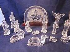 WATERFORD CRYSTAL Nativity Set ~ EXCELLENT