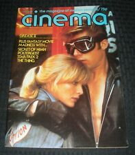 1981 Sept CINEMA Movie Magazine #5 FN+ 6.5 Grease 2 / Star Trek 2 / The Thing